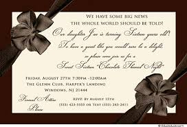 16th birthday invitation s