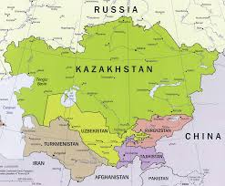 Tajikistan Map Thinking Aloud U201cthe United States And Central Asia After 2014