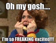 Im So Excited Meme - i m like the pointer sisters over here i m so excited and i just