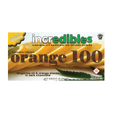 incredibles edibles incredibles orange 100 100mg rec weedmaps