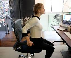Neck Exercises At Desk 5 Easy Exercises You Can Do While Sitting At Your Desk Theberry