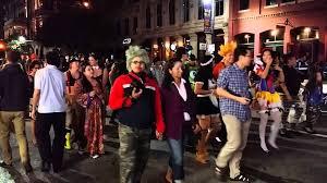 halloween on 6th st austin tx 2015 youtube