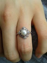 the pearls wedding band best 25 pearl engagement rings ideas on pearl rings
