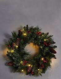 interior tree ornament wreath rattan decorations door