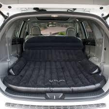 jeep grand cherokee camping big comfortable inflatable car camping mattress sleeps 2