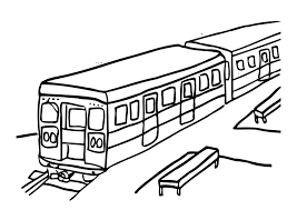 coloring page train img 12303