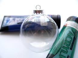 diy hand painted glass ornament christmasornaments com