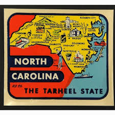 North Carolina travel stickers images 136 best vintage labels images vintage labels jpg