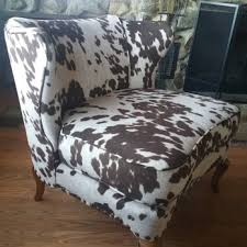 Faux Cowhide Chair Act Ii Upholstery 14 Photos U0026 10 Reviews Furniture