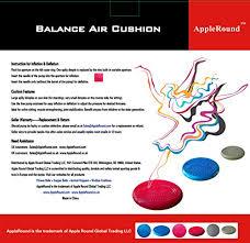 air stability wobble cushion blue 35cm 14in diameter balance