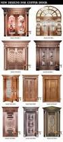 Double Glass Door by Luxury Bronze Villa Entry Door 100 Pure Copper Door Exterior