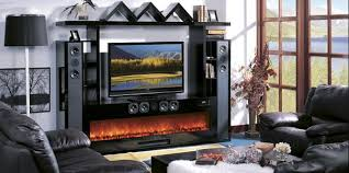 Electric Fireplace Entertainment Center Modern Flames Electric Fireplaces