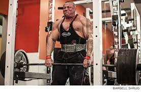bill goldberg muscular development workout how to build bigger traps a thicker neck fit world exposed