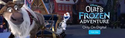 frozen official disney site