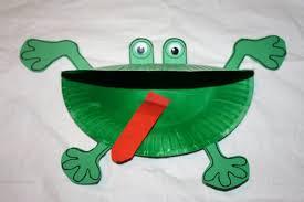 kids love craft frogs