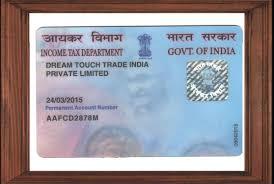 pan card legals dream touch trade india pvt ltd