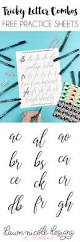 Constellations Worksheets Tricky Letter Combo Practice Sheets Set 1 Dawn Nicole Designs