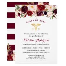 nursing school graduation invitations nursing graduation invitations announcements zazzle