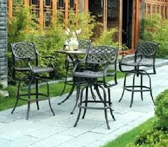 Bar Height Patio Set With Swivel Chairs Best Of Bar Height Patio Set For 96 Outdoor Bar Height Table With