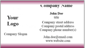 make beautiful music business cards business card templates