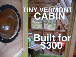 Tiny House Cabin by Recycled Material Cabin Camp In The Woods Tiny House Summer Camp