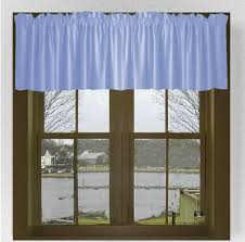 Window Valances Solid Colored Cotton Window Valances In 44 Colors