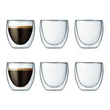 bicchieri bodum bodum pavina set 6 bicchieri da 8 cl everything for hotels