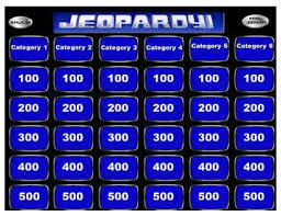 Jeopardy Templates 5 best jeopardy templates free premium templates