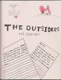 the outsiders book cover by gothhippie67 on deviantart