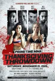 primetime mma thanksgiving throwdown mma event page tapology