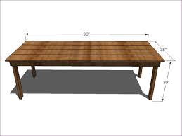 outdoor ideas how to build a farm table dining room table with
