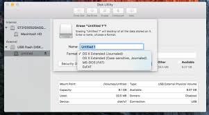 how to format a storage drive for mac how to format usb on mac