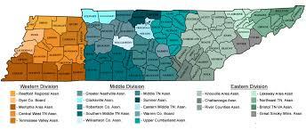 Middle Tn Map Local Associations Tn Realtors