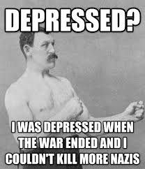 Manly Man Memes - livememe com overly manly man