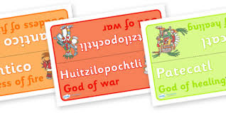 aztec god group table signs aztec aztec people mexican