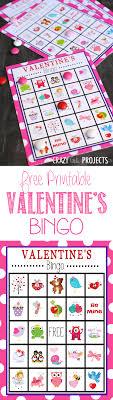 valentines bingo free printable s day bingo projects