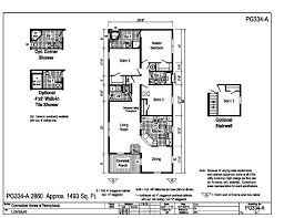 pinecrest modular ranch pg334a find a home pennwest homes