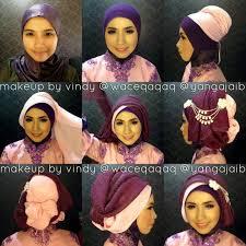 tutorial makeup natural hijab pesta tutorial hijab segi empat untuk kebaya untuk kebaya tutorial cute
