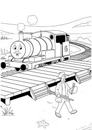 thomas the train coloring pages free to print cartoon coloring