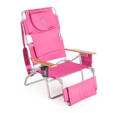 Fully Reclining Beach Chair Amazon Com Ostrich Deluxe Padded Sport 3 In 1 Aluminum Beach