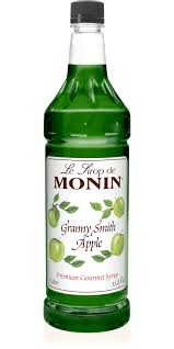 green apple martini bottle granny smith apple syrup monin