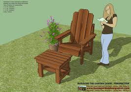 Plans For Building Garden Furniture by Home Garden Plans Gc100 Garden Chair Plans Out Door Furniture