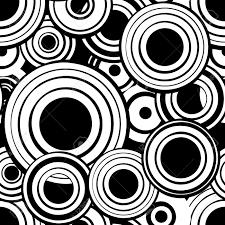imagenes abstractas con circulos modelo inconsútil geométrico abstracto con los círculos en blanco y