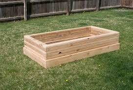 wooden garden troughs on wheels u2014 farmhouse design and furniture