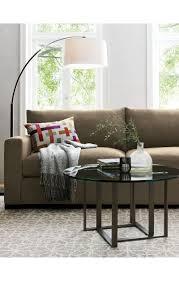 dexter arc floor lamp with white shade arc floor lamps floor