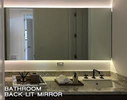 led lighted mirrors glass tek glass tek