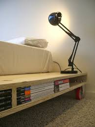 diy beds from wooden pallets u2013 fresh design pedia