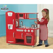 jeux de cuisine s kidkraft cuisine enfant vintage en bois cuisines rétro