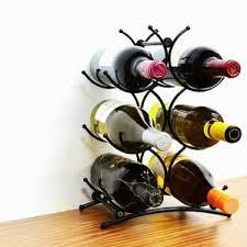 6 bottle tabletop wine rack wayfair