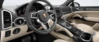 porsche turbo interior 2017 porsche cayenne turbo s model info porsche orland park